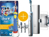 Oral-B Genius 8000 TriZone + Oral-B Advance Power Kids 950TX