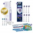 1-2-3 Oral-B Sparpack Genius 10100S Orchid Purple
