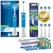 1-2-3 Oral-B Sparpack Vitality 100 CrossAction Blue