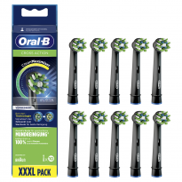 Oral-B Aufsteckbürsten Cross Action 10er BLACK CleanMaximizer (10 St.)