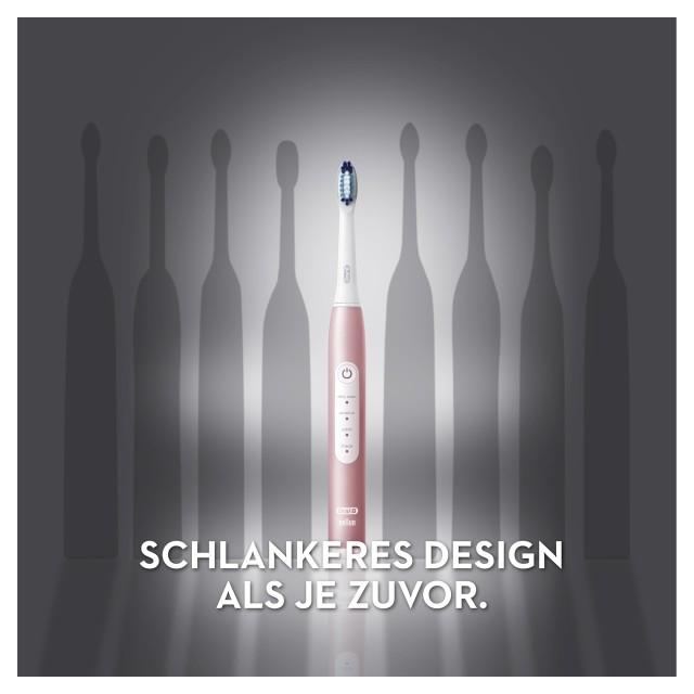 Braun Oral-B Pulsonic Slim Luxe 4000 Rosegold Schallzahnbürste 3